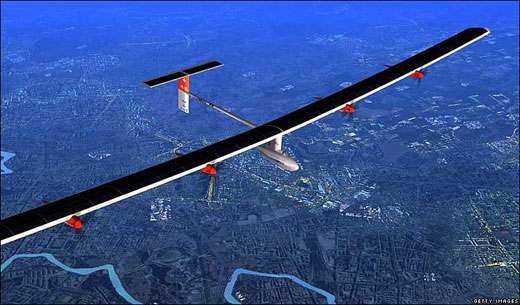 Pesawat Tenaga Surya Terbesar akan Lintasi Benua