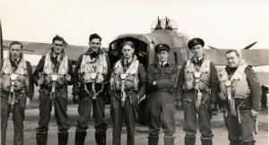 My Dad with his crew (third from left)