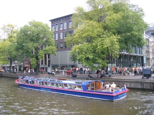 The Anne Frank house and visitor centre