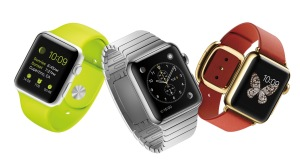 The three Apple Watch styles
